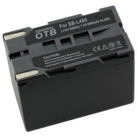 Battery for Samsung SB-L480 Li-Ion 6000mAh