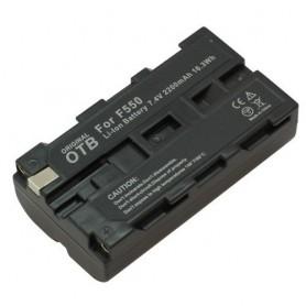 Batterij voor Sony NP-F550 2200mAh Li-Ion