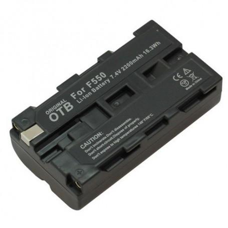 OTB - Batterij voor Sony NP-F550 2200mAh Li-Ion - Sony foto-video batterijen - ON1448 www.NedRo.nl