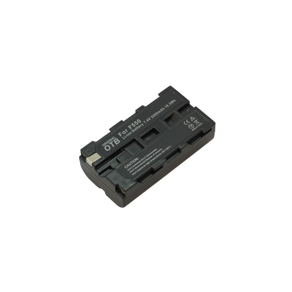 Batterij voor Sony NP-F550 2200mAh Li-Ion ON1448