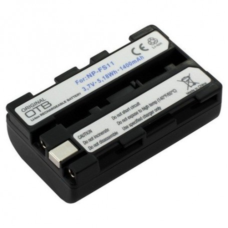 OTB - Batterij voor Sony NP-FS11 Li-Ion 1400mAh - Sony foto-video batterijen - ON1449 www.NedRo.nl