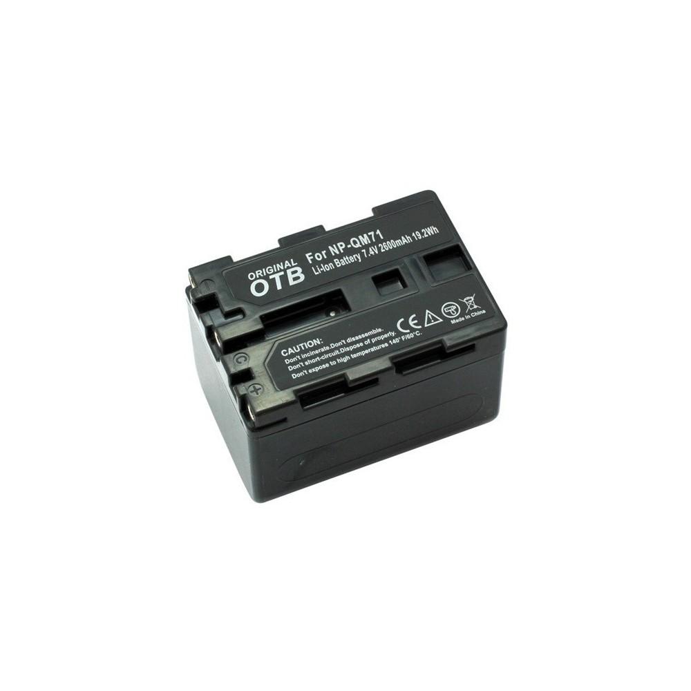 Batterij voor Sony NP-QM71 Li-Ion ON1452