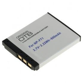 Battery for Sony NP-FT1 Li-Ion 600mAh