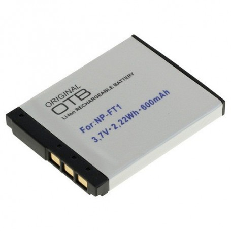 OTB - Battery for Sony NP-FT1 Li-Ion 600mAh - Sony photo-video batteries - ON1454