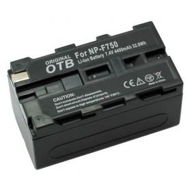 Battery for Sony NP-F750 Li-Ion 4400mAh