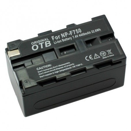 OTB - Battery for Sony NP-F750 Li-Ion 4400mAh - Sony photo-video batteries - ON1456