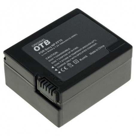 OTB, Battery for Sony NP-FF70 Li-Ion 1400mAh, Sony photo-video batteries, ON1459