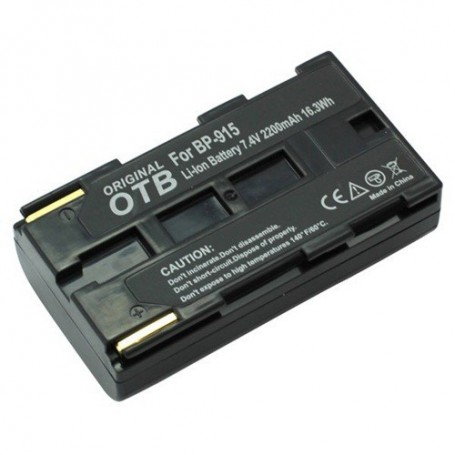 OTB, Batterij voor Canon BP-915 Li-Ion - ON1468, Canon foto-video batterijen, ON1468, EtronixCenter.com