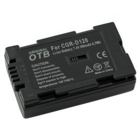 Batterij voor Panasonic CGR-D120 Li-Ion ON1470