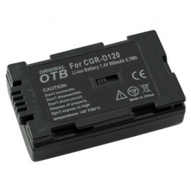 Battery for Panasonic CGR-D120 Li-Ion ON1470