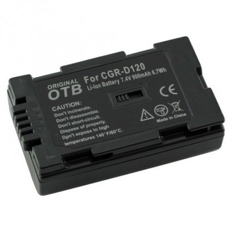 OTB, Battery for Panasonic CGR-D120 Li-Ion ON1470, Panasonic photo-video batteries, ON1470