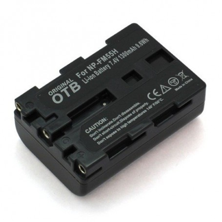 OTB, Batterij voor Sony NP-FM55H / NP-QM51 Li-Ion ON1473, Sony foto-video batterijen, ON1473, EtronixCenter.com