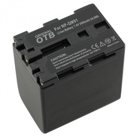 OTB, Batterij voor Sony NP-QM91 Li-Ion ON1474, Sony foto-video batterijen, ON1474, EtronixCenter.com