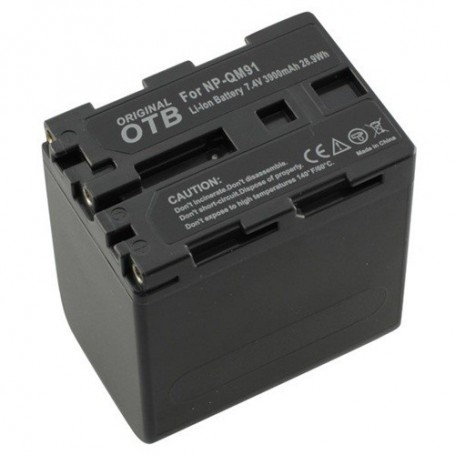 OTB, Battery for Sony NP-QM91 Li-Ion ON1474, Sony photo-video batteries, ON1474
