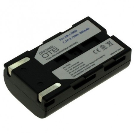 OTB, Battery for Samsung SBL-SM80 Li-Ion 800mAh, Samsung photo-video batteries, ON1482