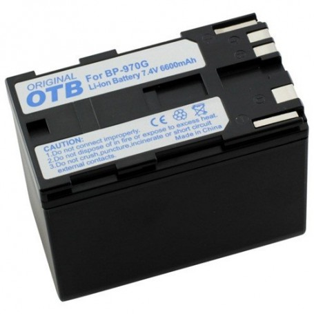 OTB - Battery for Canon BP-970G Li-Ion ON1483 - Canon photo-video batteries - ON1483 www.NedRo.us