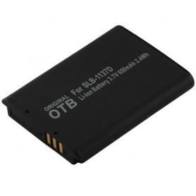 Batterij voor Samsung SLB-1137D Li-Ion 650mAh