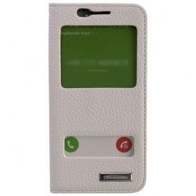 Commander, Husă telefon COMMANDER cu fereastră dublă pentru Samsung Galaxy S6 Edge, Samsung huse telefon, ON1493, EtronixCent...