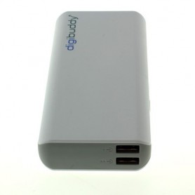 NedRo - 11000mAh PowerBank Power Station DB-11010 Li-Ion White ON1600 - Powerbanks - ON1600 www.NedRo.us