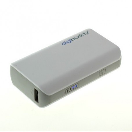 NedRo - 4400mAh PowerBank Power Station DB-4410 Li-Ion White - Powerbanks - ON1602 www.NedRo.us