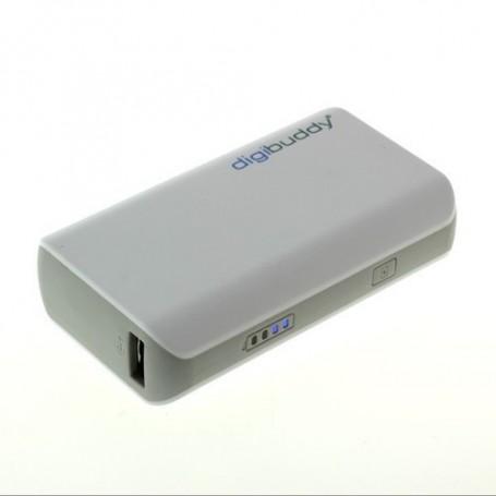 NedRo, PowerBank 4400mAh DB-4410 Li-Ion Wit, Powerbanks, ON1602, EtronixCenter.com