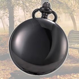 NedRo, Ceas de Buzunar Miscare Quartz Black Mirror look AL066, Ceas de buzunar Quartz, AL066, EtronixCenter.com