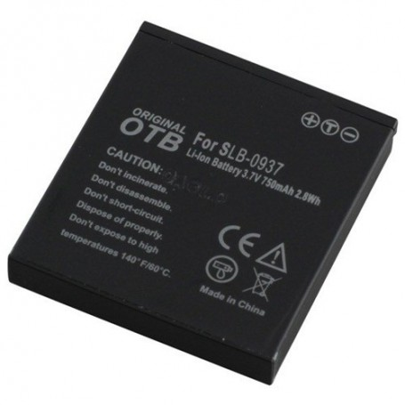 OTB, Batterij voor Samsung SLB-0937 750mAh, Samsung FVB foto-video batterijen, ON1547, EtronixCenter.com
