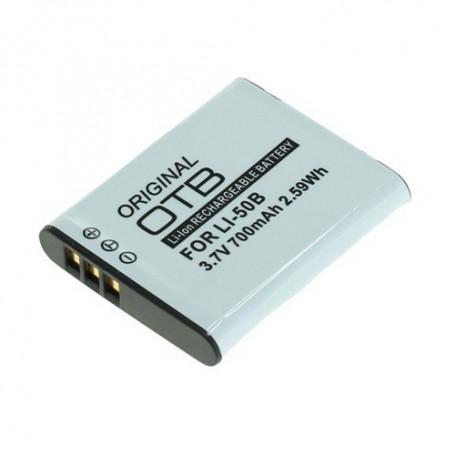 OTB - Battery for Olympus Li-50B / Pentax D-Li92 / Ricoh DB-100 - Olympus photo-video batteries - ON1552 www.NedRo.us