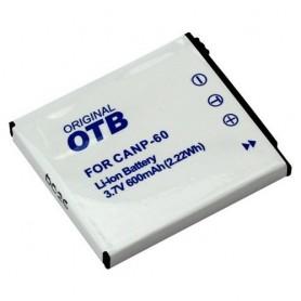 OTB, Batterij voor Casio NP-60 Li-Ion, Casio foto-video batterijen, ON1553, EtronixCenter.com