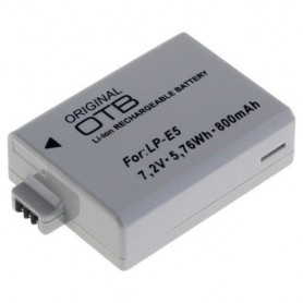 OTB - Battery for Canon LP-E5 Li-Ion - Canon photo-video batteries - ON1581-C www.NedRo.us