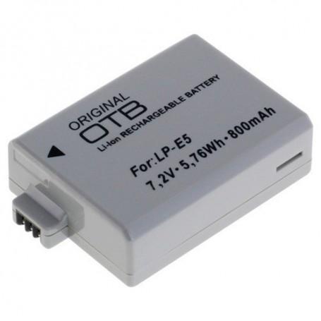 OTB, Battery for Canon LP-E5 Li-Ion, Canon photo-video batteries, ON1581
