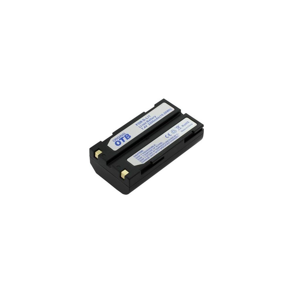 Accu Batterij compatible met Pentax D-Li1 Li-Ion
