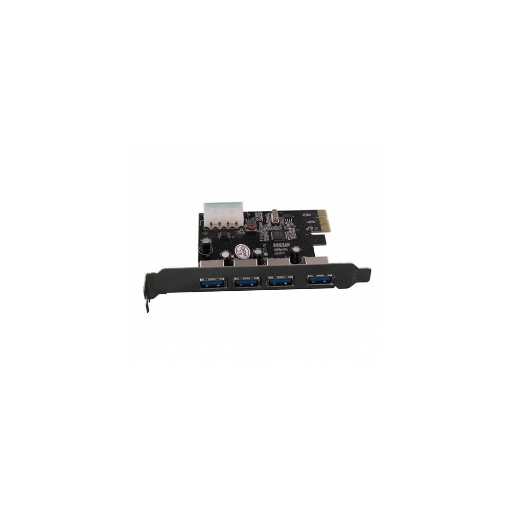 PCI Express 4 Poorts USB 3.0 Kaart YPU363-1