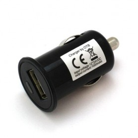 OTB, Car Charging Adapter USB 1A, Auto charger, ON1597-CB, EtronixCenter.com
