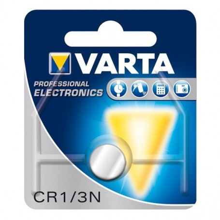 Varta, Varta CR1/3N 6131 170mAh 3V Button cell battery, Button cells, BS077-CB