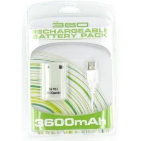 NedRo - Accu + Lader voor XBOX 360 - Xbox 360 Kabel en Accu's - YGX523-CB www.NedRo.nl
