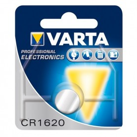 Varta - Varta Professional Electronics CR1620 6620 70mAh 3V Button cell battery - Button cells - BS076-5x www.NedRo.us