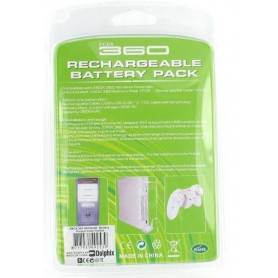 NedRo - Accu + Lader voor XBOX 360 - Xbox 360 Kabel en Accu's - YGX523 www.NedRo.nl