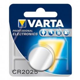 Varta, Varta Professional Electronics CR2025 6025 3V 170mAh knoopcel batterij, Knoopcellen, BS151-CB, EtronixCenter.com