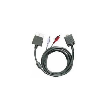 NedRo - Cablu VGA HD AV pentru XBOX 360 1145 - Cabluri & baterii Xbox 360 - 1145 www.NedRo.ro