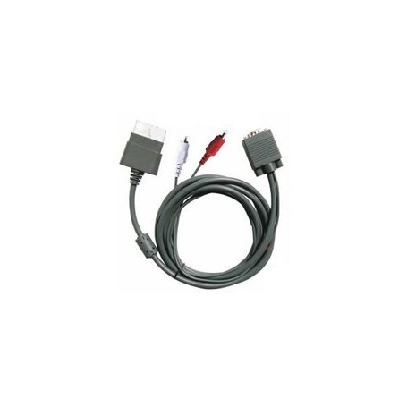 Oem - VGA HD AV Cable for XBOX 360 1145 - Xbox 360 cables & batteries - 1145