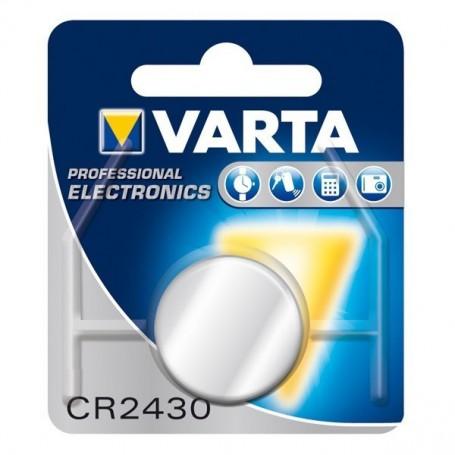 Varta, Varta CR2430 280mAh 3V Professional Electronics Lithium knoopcel batterij, Knoopcellen, BS168-CB, EtronixCenter.com