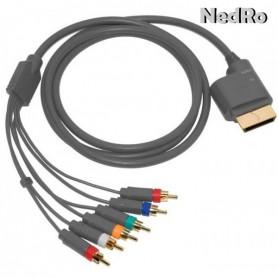 Xbox 360 en Xbox Slim component AV kabel 1.8m YGX556