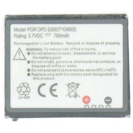 NedRo - 8500/DOPOD Battery for Qtek S300 Li-Ion P025 - PDA batteries - P025 www.NedRo.us