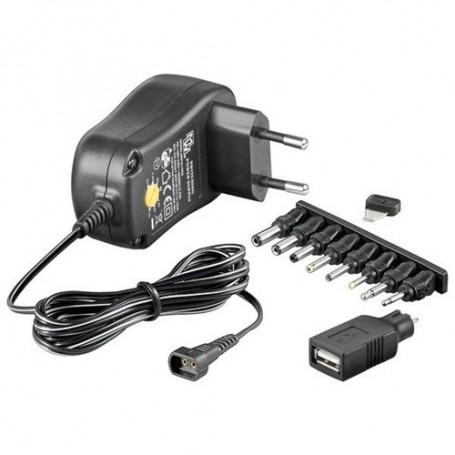 OTB - Multi Switching power supply stabilized AC/DC 1000mA - Plugs and Adapters - ON1690 www.NedRo.us