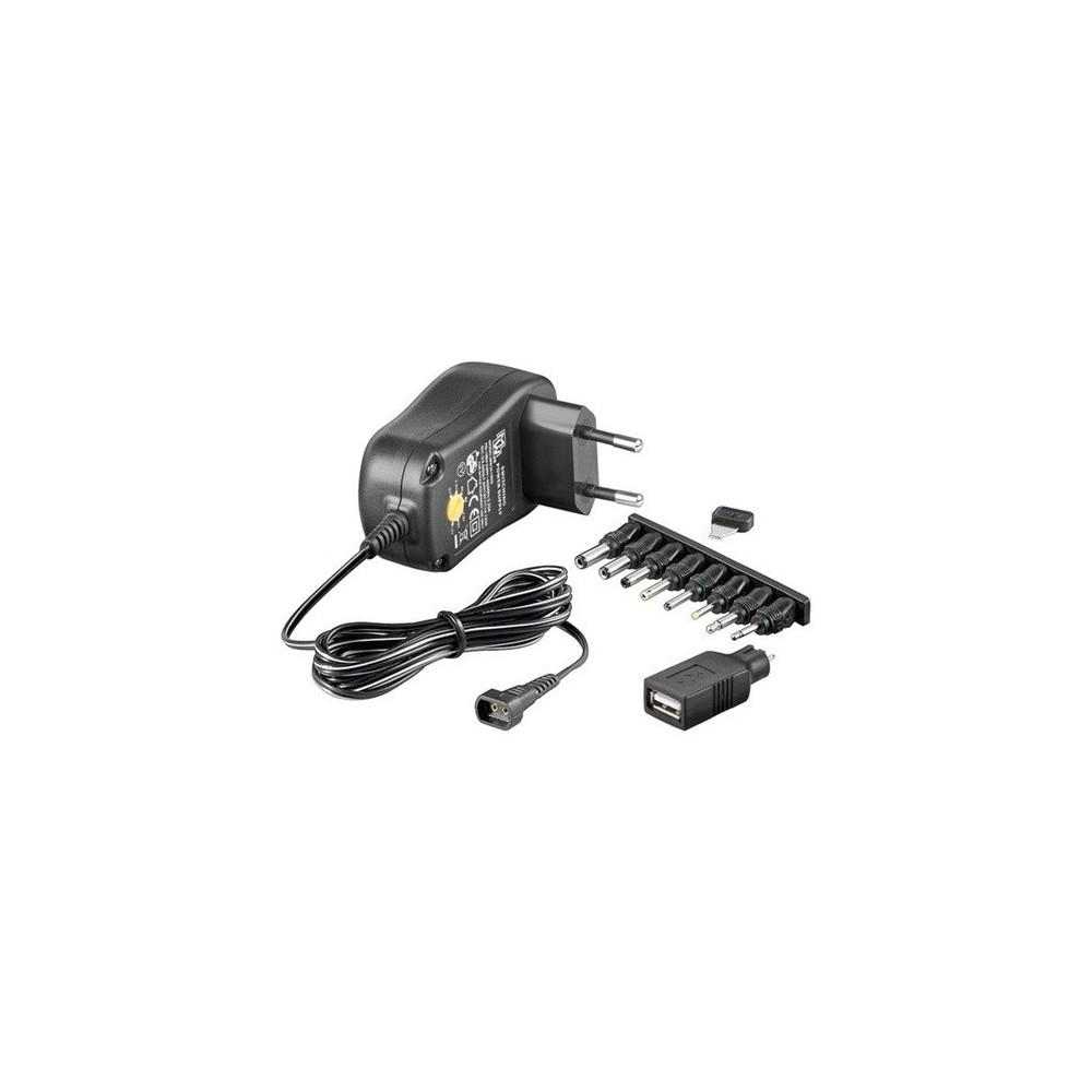 OTB - Multi Switching voeding gestabiliseerd AC / DC 1000mA ON1690 - Pluggen en Adapters - ON1690 www.NedRo.nl