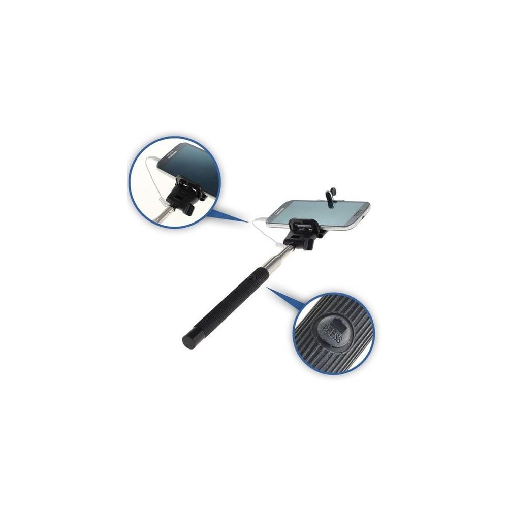 Selfie stick / monopod met bedrade trigger-knop ON1710