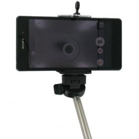 NedRo - Selfie Stick + Remote-Shutter voor Smartphones Zwart 49472 - Overige telefoonhouders - 49472 www.NedRo.nl
