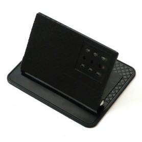 Non-slip mat en Beugel met hoek Zwart 12 x 9.8cm