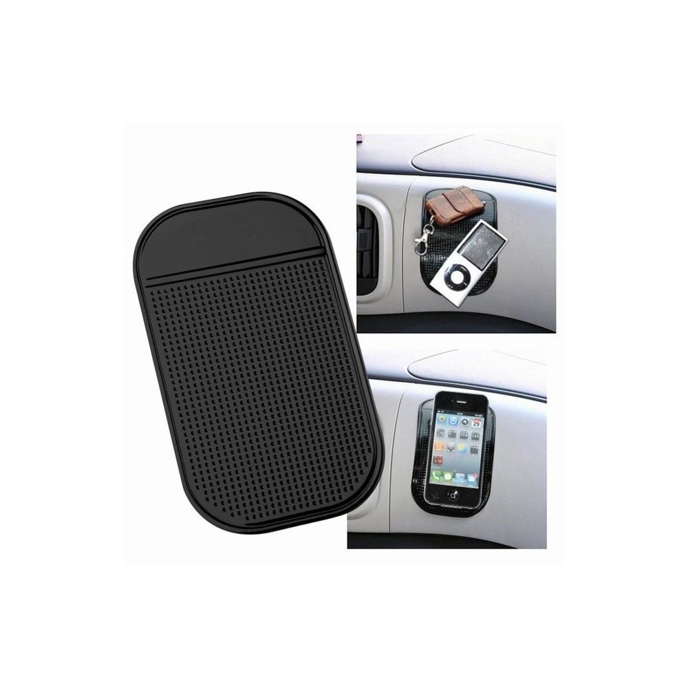 NedRo - Mobiel GSM Anti-slip mat 14,5 x 8.6cm zwart ON1753 - Overige telefoonhouders - ON1753-C www.NedRo.nl